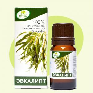 Эвкалипт, натуральное эфирное масло,10мл
