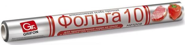 Фольга особопрочная GRIFON 29 см*10м Успех Плюс