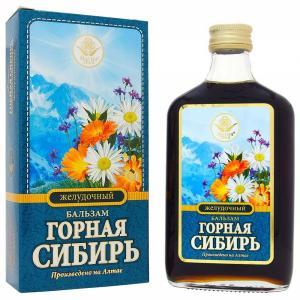 Бальзам ЖелудочныйГорнаяСибирь, 250мл. АлтайДар