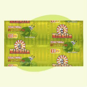 Антикомарийные пластины без запаха(10шт)